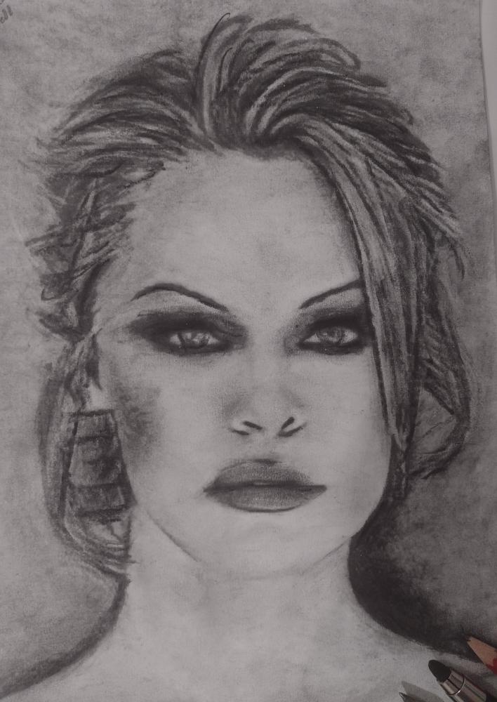 Pamela Anderson by mi7ell